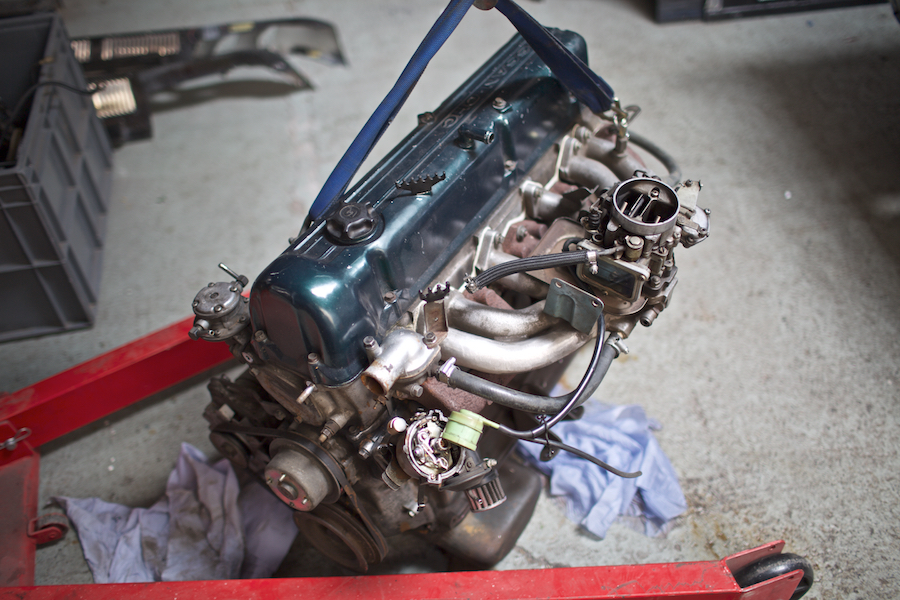 Skyline GC10 L20 engine